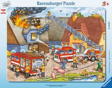 Fighting Fire Jigsaw Puzzles;Children s Puzzles - image 1 - Ravensburger