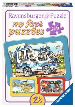 Feuerwehr, Polizei, Rettungshubschrauber Baby und Kleinkind;Puzzles - Bild 1 - Ravensburger