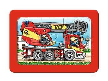 Feuerwehr, Polizei, Rettungshubschrauber Baby und Kleinkind;Puzzles - Bild 3 - Ravensburger
