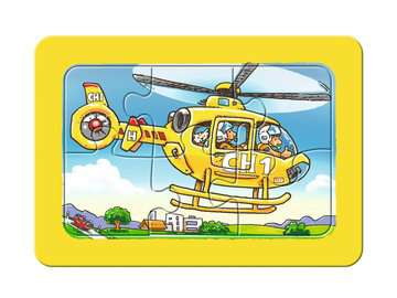 Feuerwehr, Polizei, Rettungshubschrauber Baby und Kleinkind;Puzzles - Bild 4 - Ravensburger