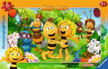 06121 Kinderpuzzle Biene Majas Welt von Ravensburger 1