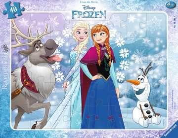 Disney Ledové království 40 dílků 2D Puzzle;Dětské puzzle - obrázek 1 - Ravensburger