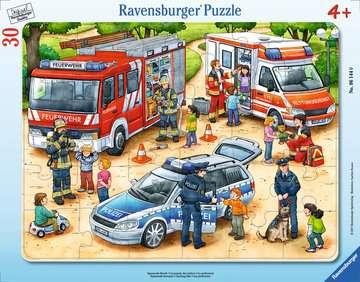 06144 Kinderpuzzle Spannende Berufe von Ravensburger 1