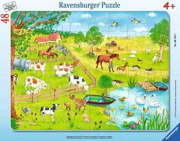 06145 Kinderpuzzle Spaziergang auf dem Land von Ravensburger 1