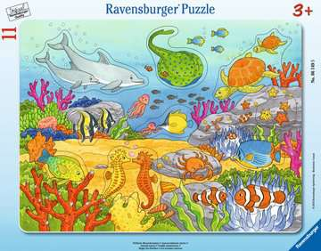 Fröhliche Meeresbewohner Puzzle;Kinderpuzzle - Bild 1 - Ravensburger