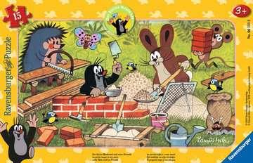 06151 Kinderpuzzle Der kleine Maulwurf und seine Freunde von Ravensburger 1