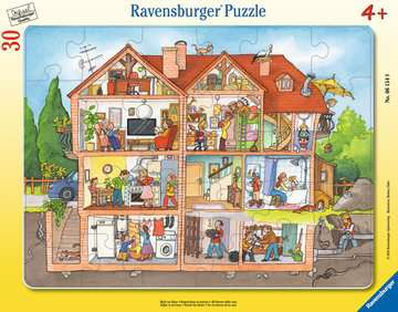 Inside the House Jigsaw Puzzles;Children s Puzzles - image 1 - Ravensburger