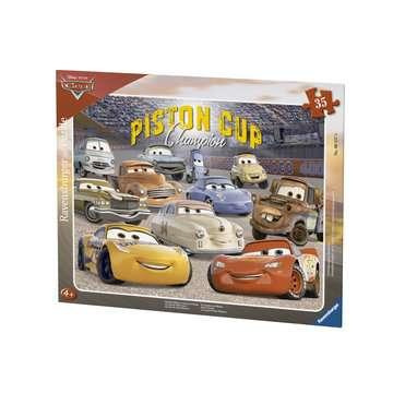 Puzzle cadre 30-48 p - Les amis de Flash / Disney Cars 3 Puzzle;Puzzle enfant - Image 1 - Ravensburger