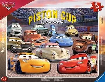 Puzzle cadre 30-48 p - Les amis de Flash / Disney Cars 3 Puzzle;Puzzle enfant - Image 2 - Ravensburger