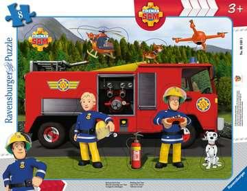 06169 Kinderpuzzle Rettung durch Sam von Ravensburger 1