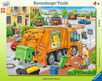 Waste Collection Jigsaw Puzzles;Children s Puzzles - image 1 - Ravensburger