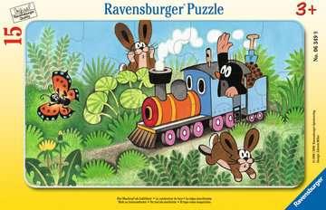 06349 Kinderpuzzle Der Maulwurf als Lokführer von Ravensburger 1