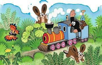 Der Maulwurf als Lokführer Puzzle;Kinderpuzzle - Bild 2 - Ravensburger