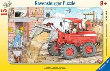 06359 Kinderpuzzle Mein Bagger von Ravensburger 1