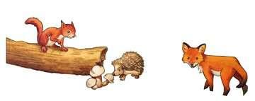 06376 Kinderpuzzle Tierkinder des Waldes von Ravensburger 2