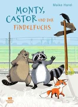 06400010 Bilderbücher und Vorlesebücher Monty, Castor und der Findelfuchs von Ravensburger 1