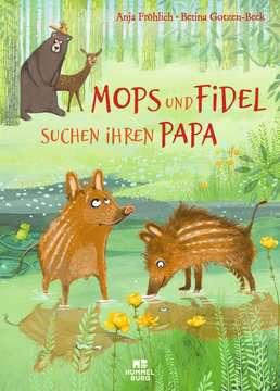 06400031 Bilderbücher und Vorlesebücher Mops und Fidel suchen ihren Papa von Ravensburger 1