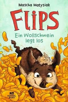 06400033 Kinderliteratur Flips - Ein Wollschwein legt los von Ravensburger 1