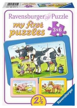 06571 Kinderpuzzle Gute Tierfreunde von Ravensburger 1