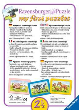06571 Kinderpuzzle Gute Tierfreunde von Ravensburger 2