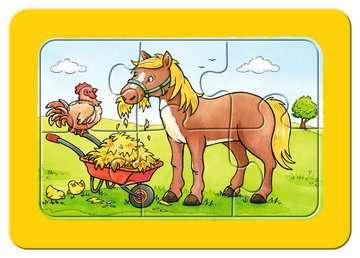 06571 Kinderpuzzle Gute Tierfreunde von Ravensburger 4