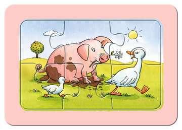 06571 Kinderpuzzle Gute Tierfreunde von Ravensburger 5