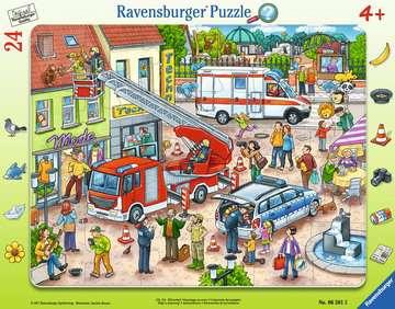 06581 Kinderpuzzle 110, 112 - Eilt herbei! von Ravensburger 1