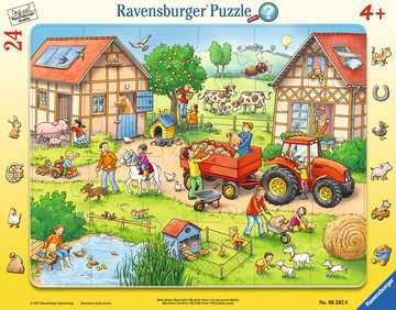 06582 Kinderpuzzle Mein kleiner Bauernhof von Ravensburger 1