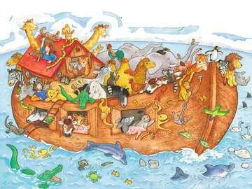 Die große Arche Noah Puzzle;Kinderpuzzle - Bild 2 - Ravensburger