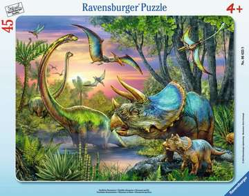 Dinosaurs at Dawn Jigsaw Puzzles;Children s Puzzles - image 1 - Ravensburger