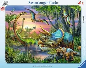 Dinosaurs at Dawn Jigsaw Puzzles;Children s Puzzles - image 1 - Ravensburger