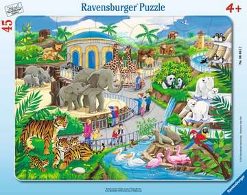 Visit to the Zoo Jigsaw Puzzles;Children s Puzzles - image 1 - Ravensburger