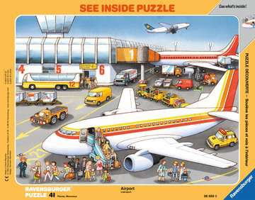 At the Airport Jigsaw Puzzles;Children s Puzzles - image 1 - Ravensburger