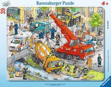 06768 Kinderpuzzle Rettungseinsatz von Ravensburger 1