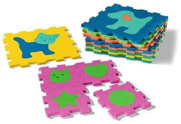 06830 Kinderpuzzle Formen und Tiere von Ravensburger 4