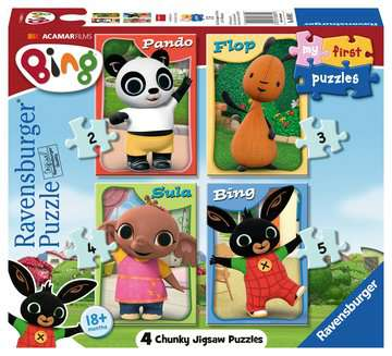 Bing 4 in Box Puzzles;Children s Puzzles - image 1 - Ravensburger