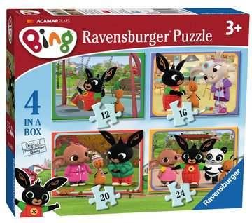 Bing 4 in Box Puzzles;Children s Puzzles - image 3 - Ravensburger