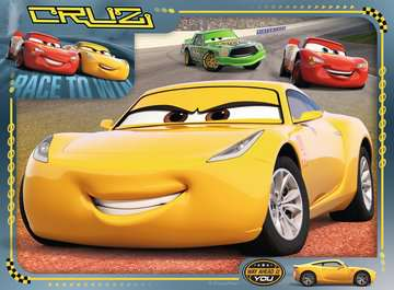 Disney Pixar Cars 3, 4 in Box Puzzles;Children s Puzzles - image 2 - Ravensburger