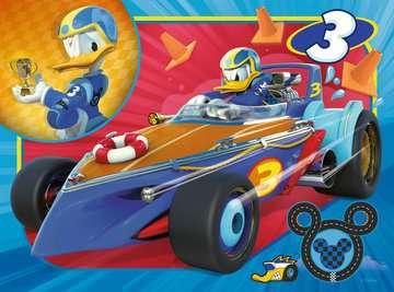 MICKEY RAŹNI RAJDOWCY 4 W 1 Puzzle;Puzzle dla dzieci - Zdjęcie 2 - Ravensburger