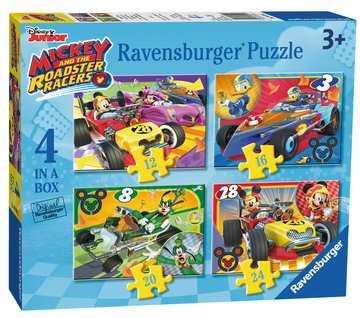 MICKEY RAŹNI RAJDOWCY 4 W 1 Puzzle;Puzzle dla dzieci - Zdjęcie 6 - Ravensburger