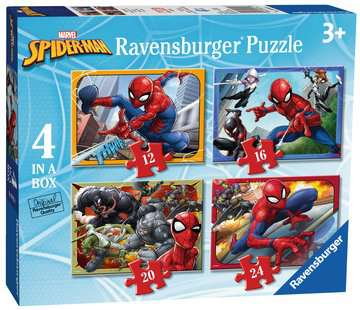Spider-Man 4 in Box Puzzles;Children s Puzzles - image 6 - Ravensburger