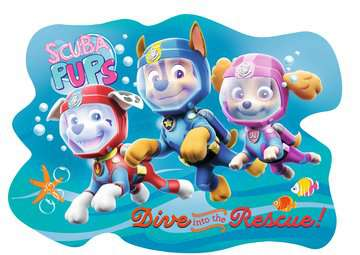 Paw Patrol Four Large Shaped Puzzles Puzzles;Children s Puzzles - image 3 - Ravensburger