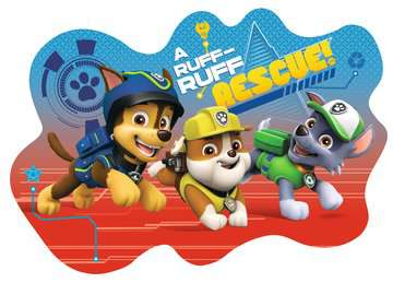 Paw Patrol Four Large Shaped Puzzles Puzzles;Children s Puzzles - image 4 - Ravensburger