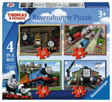 Thomas & Friends 4 in Box Puzzles;Children s Puzzles - image 1 - Ravensburger
