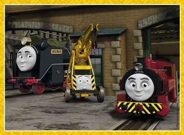 Thomas & Friends 4 in Box Puzzles;Children s Puzzles - image 2 - Ravensburger