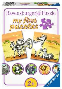 Schattige dierenfamilies Puzzels;Puzzels voor kinderen - image 1 - Ravensburger