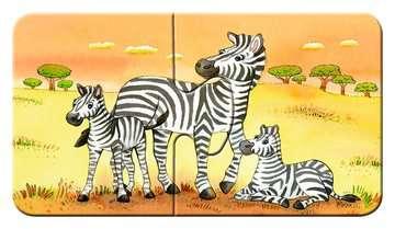Schattige dierenfamilies Puzzels;Puzzels voor kinderen - image 3 - Ravensburger