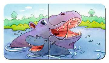 Schattige dierenfamilies Puzzels;Puzzels voor kinderen - image 5 - Ravensburger