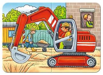 Meine liebsten Baustellenfahrzeuge Puslespil;Puslespil for børn - Billede 2 - Ravensburger