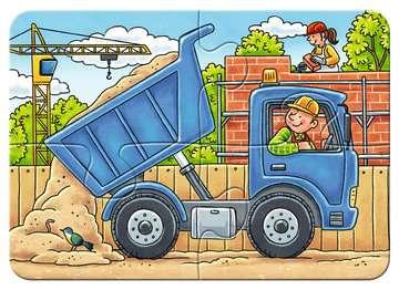 Meine liebsten Baustellenfahrzeuge Puslespil;Puslespil for børn - Billede 3 - Ravensburger